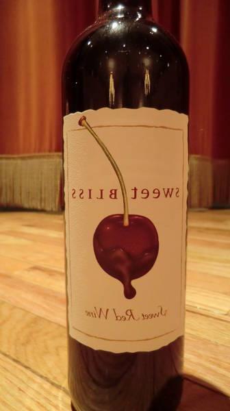 Bonne bouteille de vin rouge