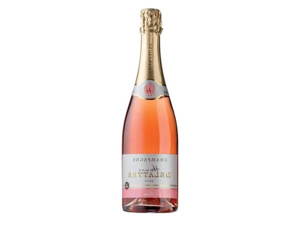 moet rose champagne